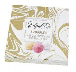 Belgid'Or Truffles Champagne, Prosecco & Gin 170g